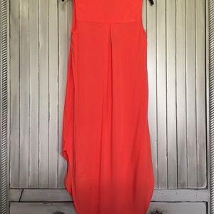 2a9973bde75 Cupio Dresses - NWT Cupio Hi Lo Dress Tunic Small Orange summer
